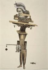 Exquisite Corpse-Jacqueline Lamba, Andre Breton & Yves Tanguy