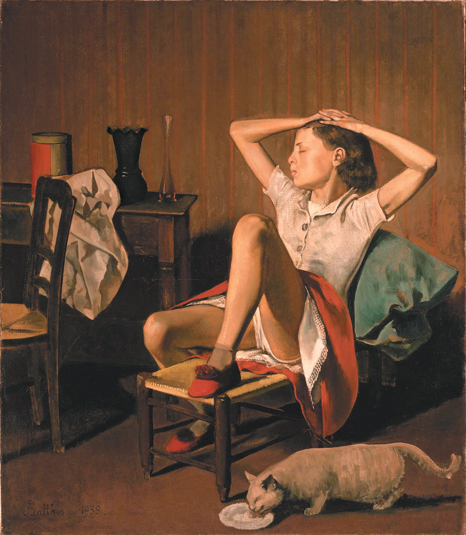 Therese Dreaming-Balthus