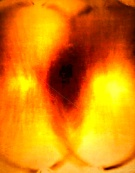 Yves Klein - fire painting
