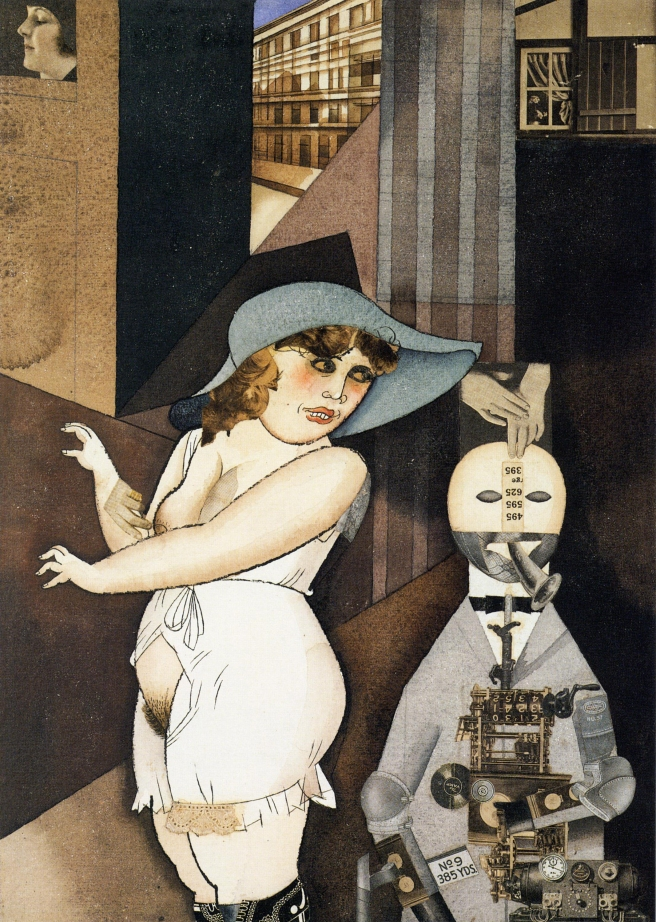 George_Grosz,_Daum_marries_her_pedantic_automaton_George_in_May_1920,_John_Heartfield_is_very_glad_of_it,_Berlinische_Galerie[1]