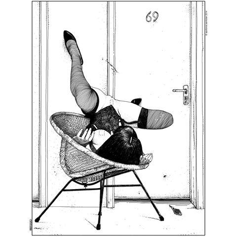 Apollonia Saintclair-L'affût (Lying in wait)