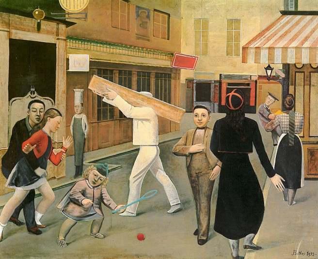 Balthus-The Street 1933