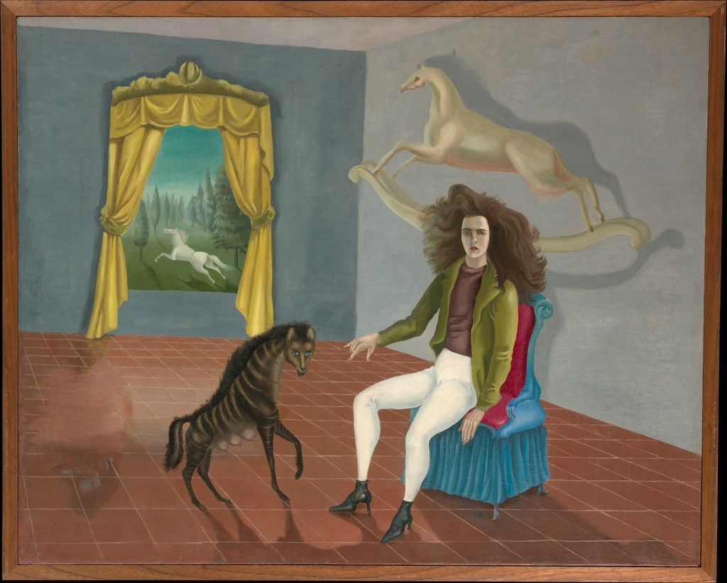 Leonora Carrington-Self Portrait (The Inn of the White Horse) 1937-1938