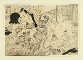 Utamaro-Woodcut
