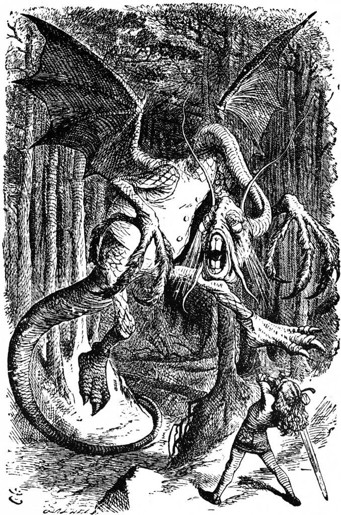 Jabberwocky-John Tenniel 1871