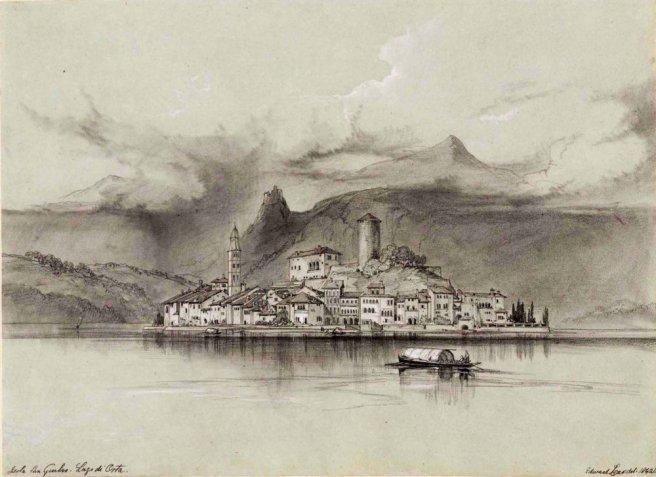 3-lago-dorta-isola-di-san-giulio-1842-edward-lear[1]