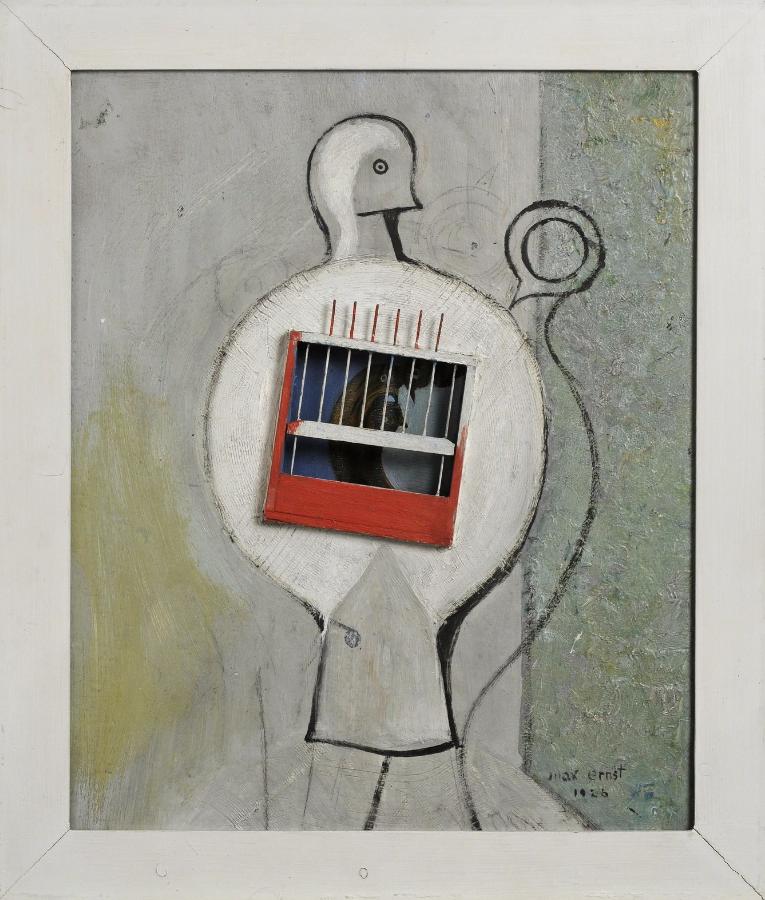 La colombe avait raison,-Max Ernst 1926