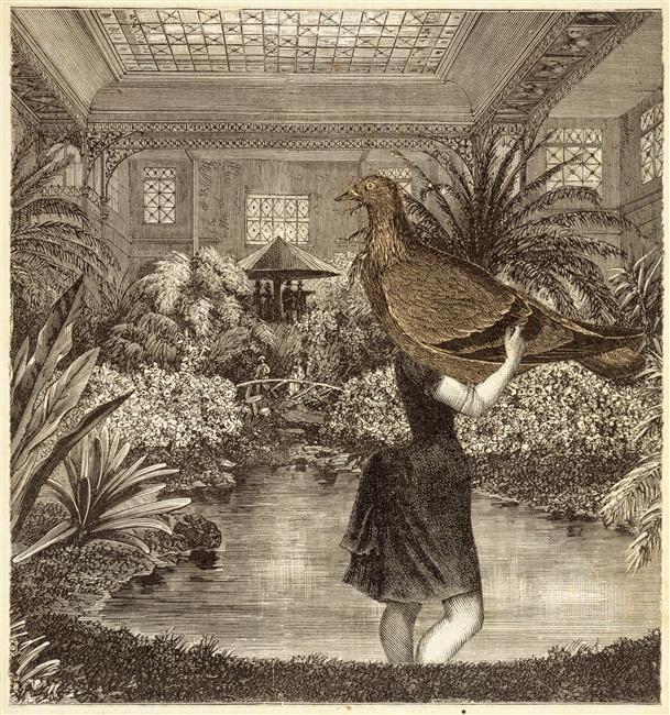 Loplop et la Belle Jardinière-Max Ernst, 1929