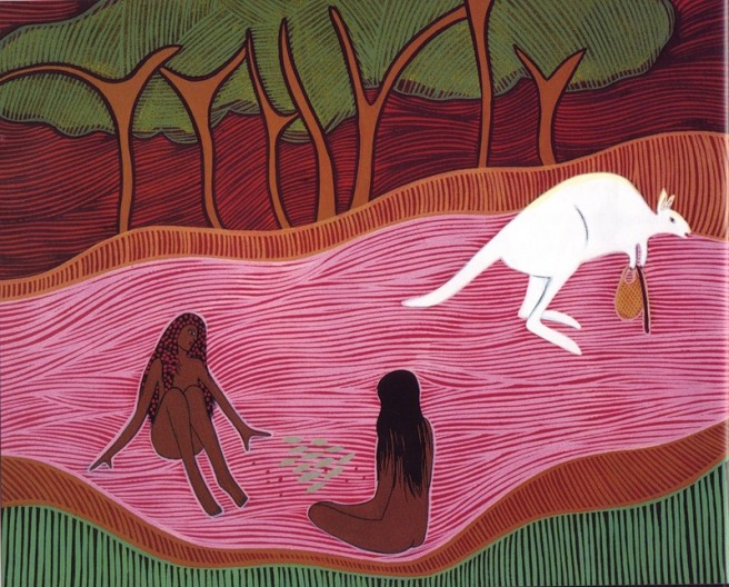 Donna Leslie-Alitji In the Dreamtime 1992