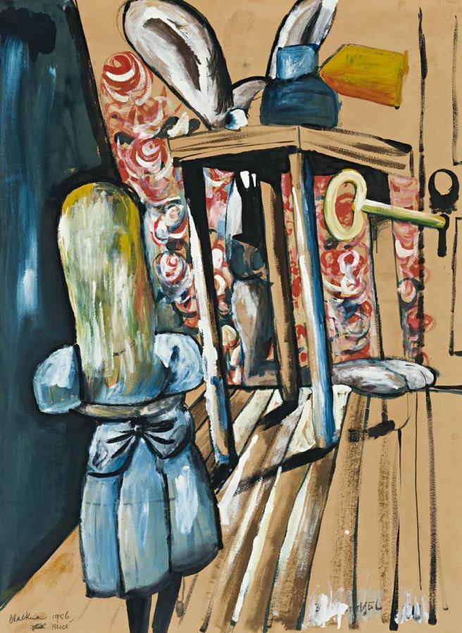 Charles Blackman-Alice 1956
