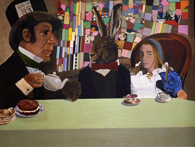 Peter Blake-Alice In wonderland 1970