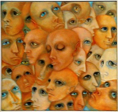 Self Portrait-Bridget Bate Tichenor
