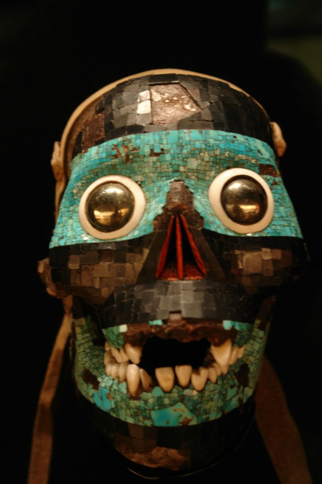 Mosaic mask of Tezcatlipoca