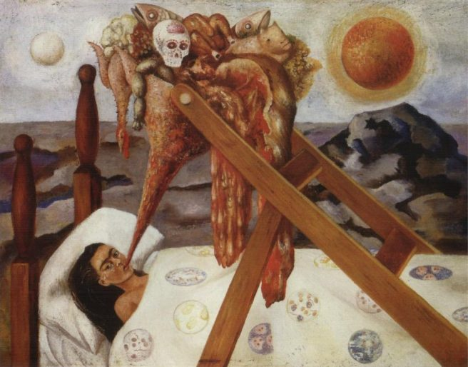 Frida Kahlo-Without-Hope 1945