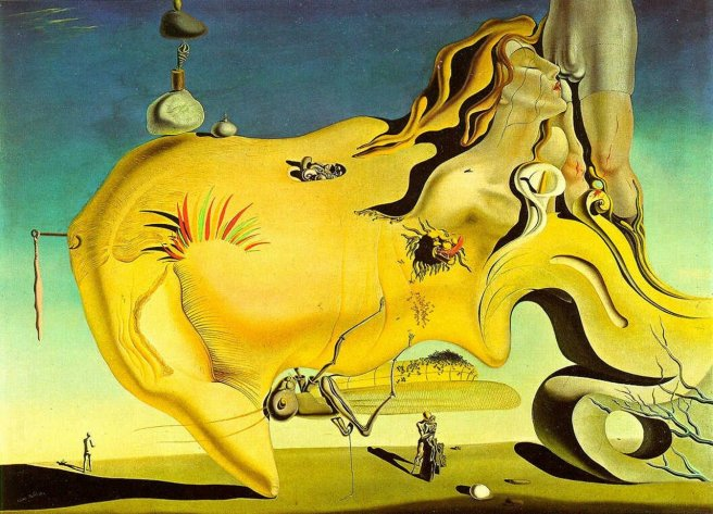 The Great Masturbator-Salvador Dali 1929