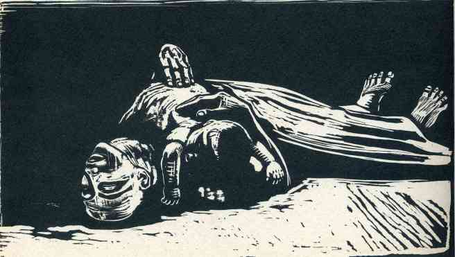 Kathe Kollwitz-The Widow II