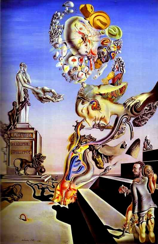 The Lugubrious Game-Salvador Dali 1929