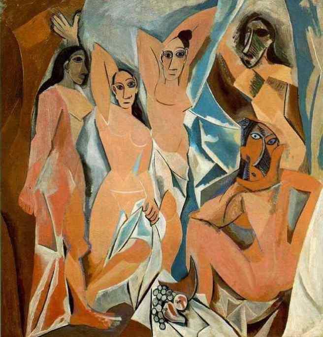 Les Demoiselles d'Avignon-Picasso 1907