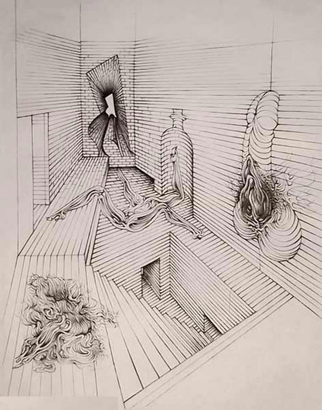 Hans Bellmer-The Brick Cell-Date Unknown