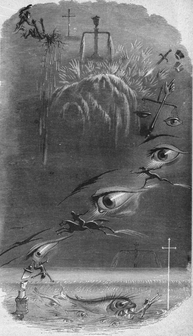 Dream of Crime and Punishment-J.J Grandville 1847