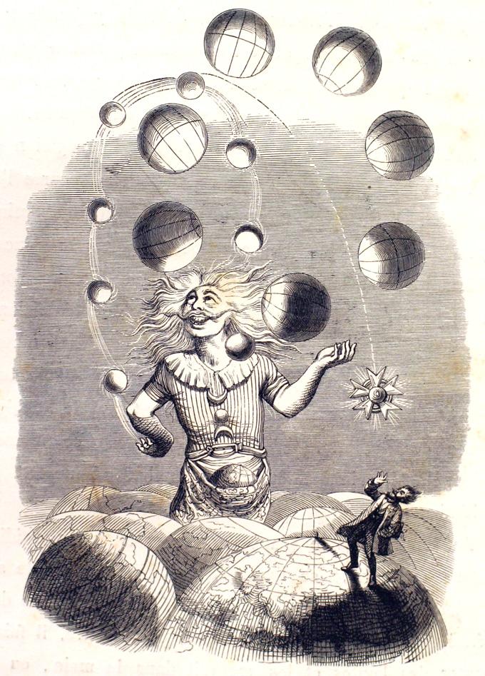 Un Autre Monde-J.J Grandville-1844