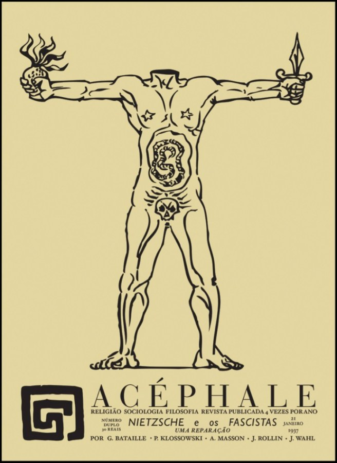 Cover of Acéphale-Andre Masson 1936