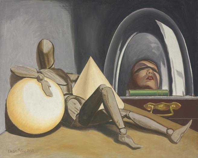 Man Ray-Aline Et Valcour 1950