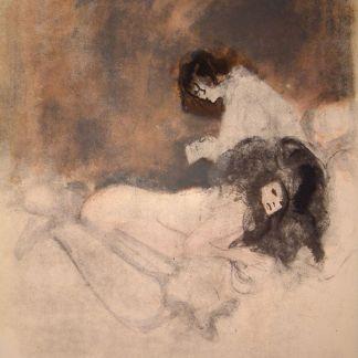 Leonor Fini-the lovers