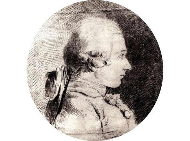 Portrait of the Marquis De Sade Aged 19-Van Loos 1760