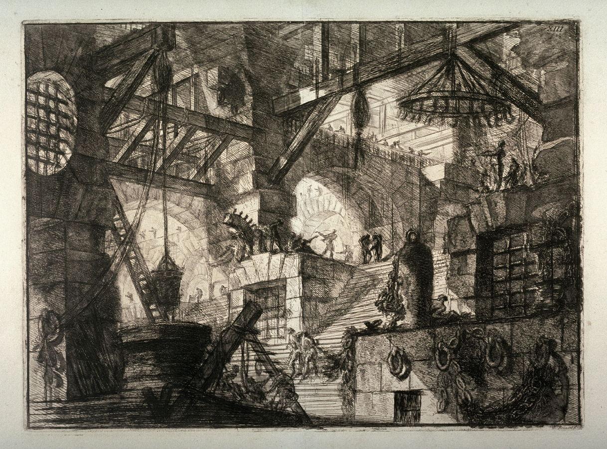 Piranesi-Carceri XIII-the Well