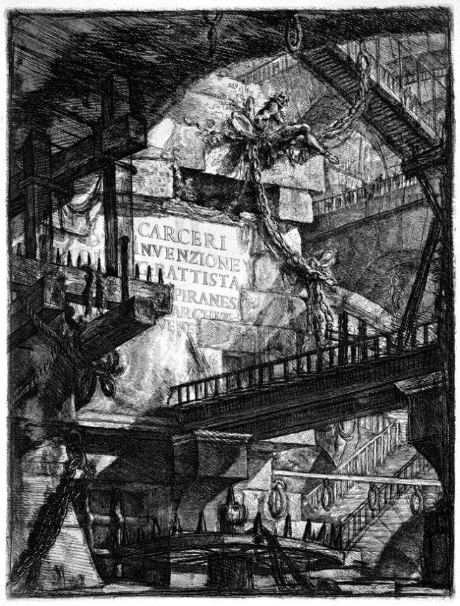 Piranesi-Carceri d'invenzione (Imaginary Prisons)-1745-1761