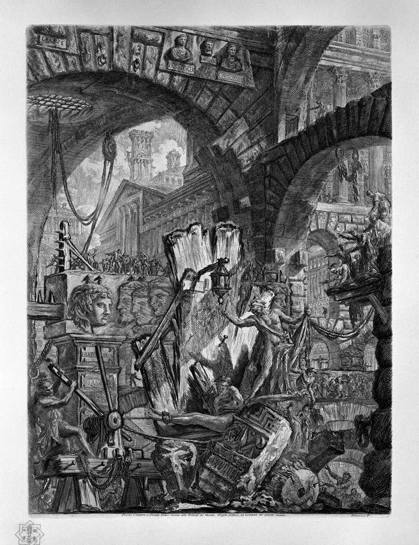 Piranesi-Carceri II-The Man on the Rack 11745-1761