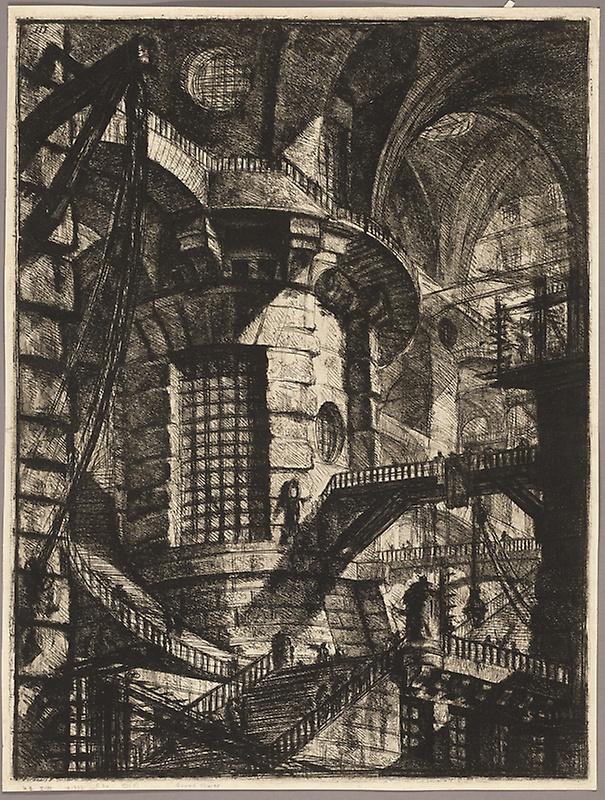 Piranesi-Carceri III-The Round Tower