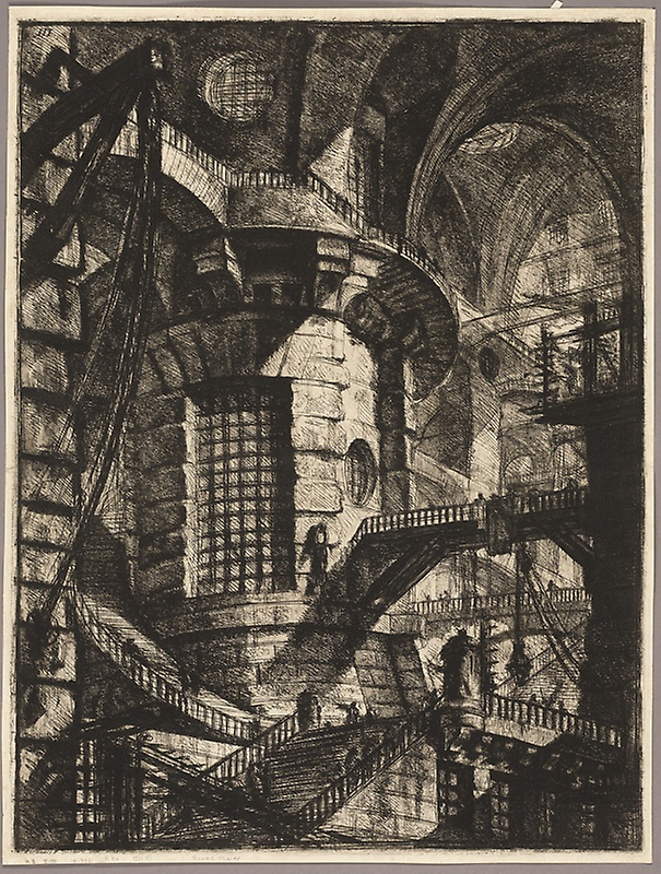 Piranesi-Carceri III-The Round Tower
