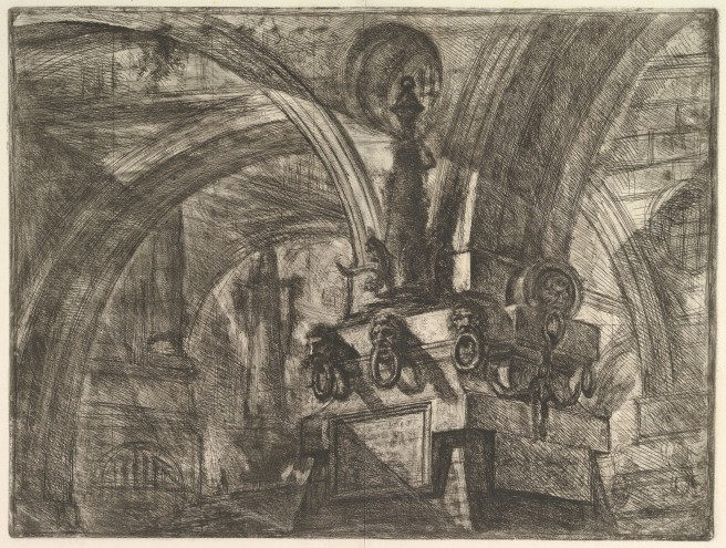 Piranesi- Carceri XV-the Pier with the Lamp