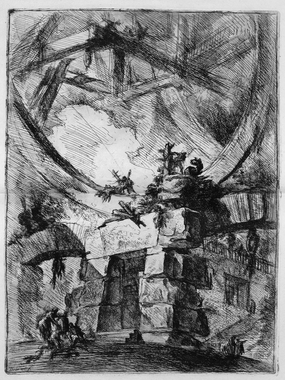 Piranesi-Carcerri IX-the Giant Wheel-1750