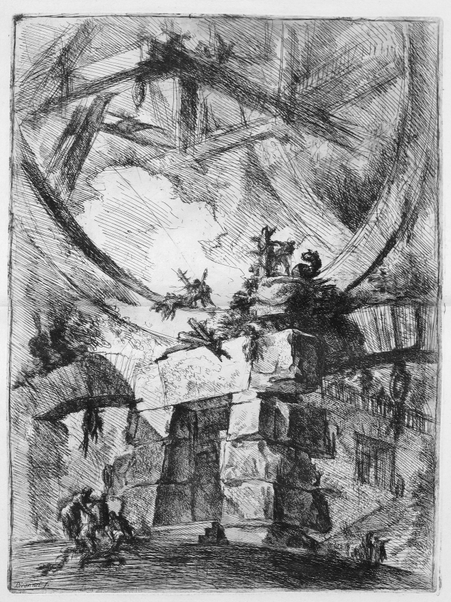 Piranesi-Carcerri IX-the Giant Wheel-1750