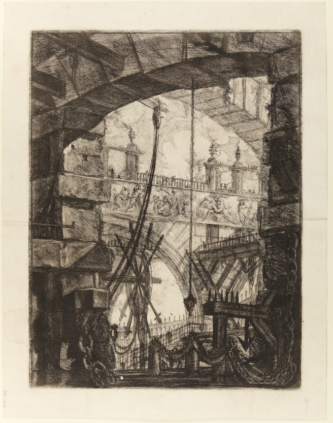 Piranesi_-Carceri IV-the Grand Piazza 1761
