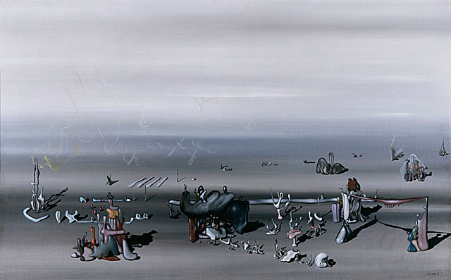 Yves Tanguy-Je Vous Attends (I'm Waiting For You) 1934