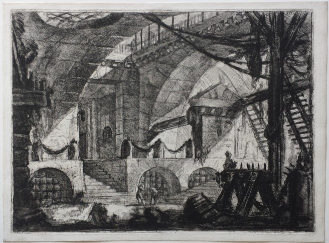 Piranesi-Carceri XII-The Sawhorse