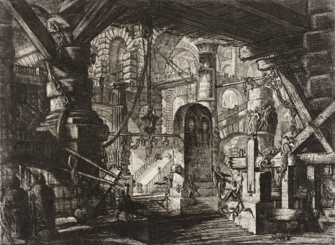 Piranesi- Carceri XVI-the Pier With Chains