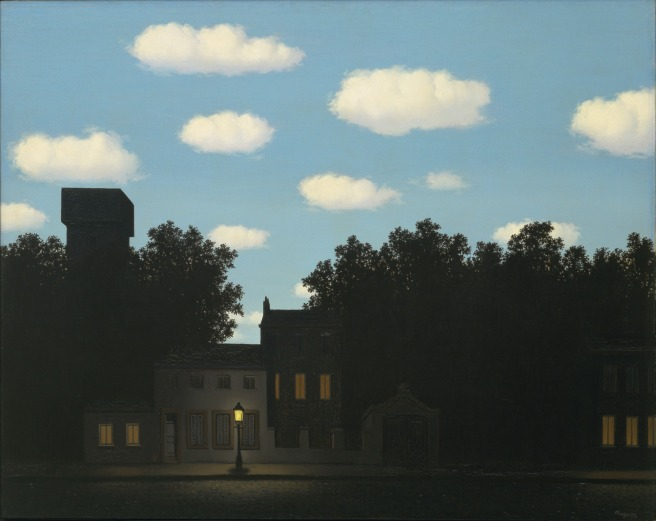 The Empire of Light II-Rene Magritte 1950