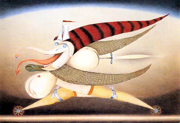 The-Demoness-of-Urgency-Friedrich Schroder-Sonnenstern-1958