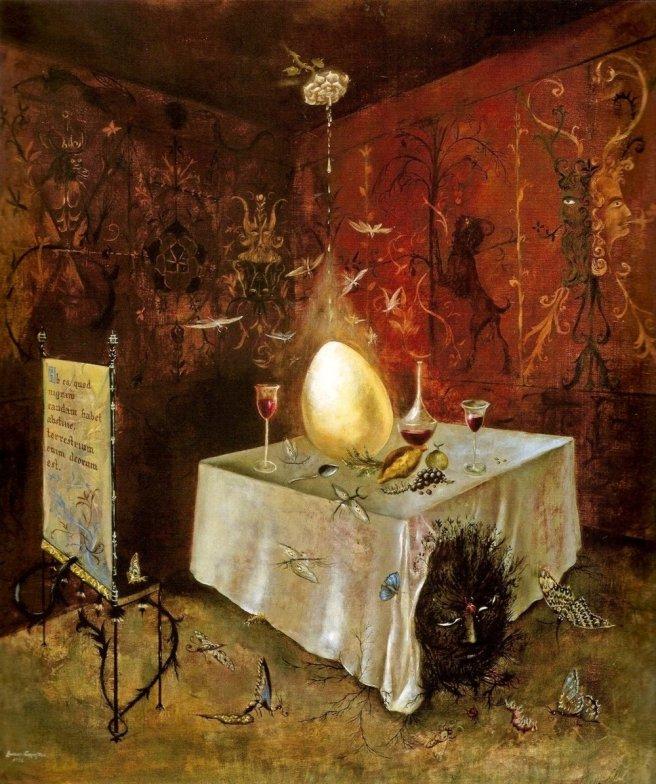 Leonora Carrington-Artist Dining Room