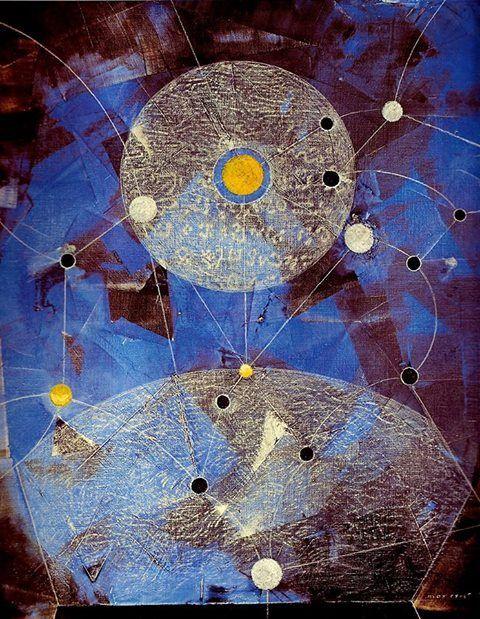 Configuration-Max Ernst 1974