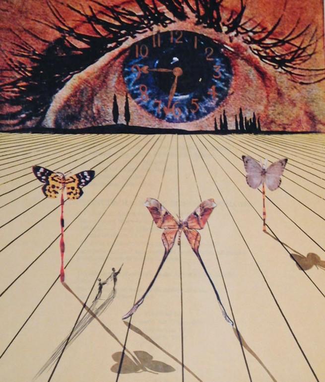Salvador Dali-The Eye of Surrealist Time 1971
