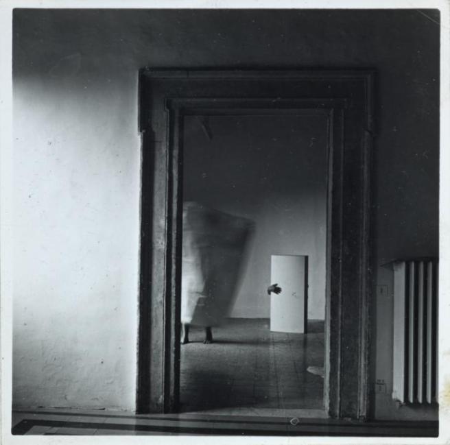 From Angel Series, Roma, September 1977 -Francesca Woodman