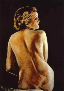 Francis Picabia-Nude from Back 1944