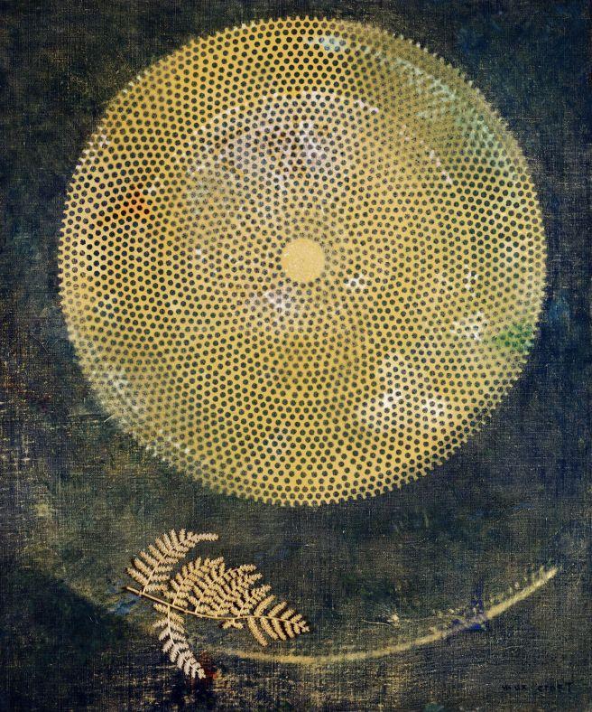 Max Ernst-Le Silence á travers les âges-1968