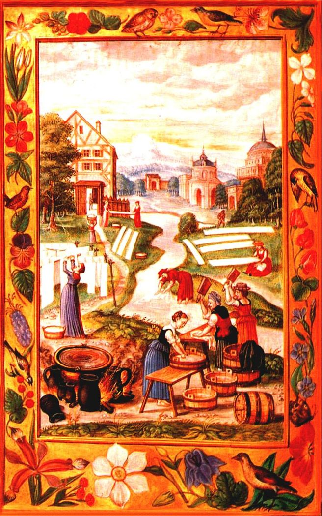 Splendor_Solis_21_Women_Washing_Clothes